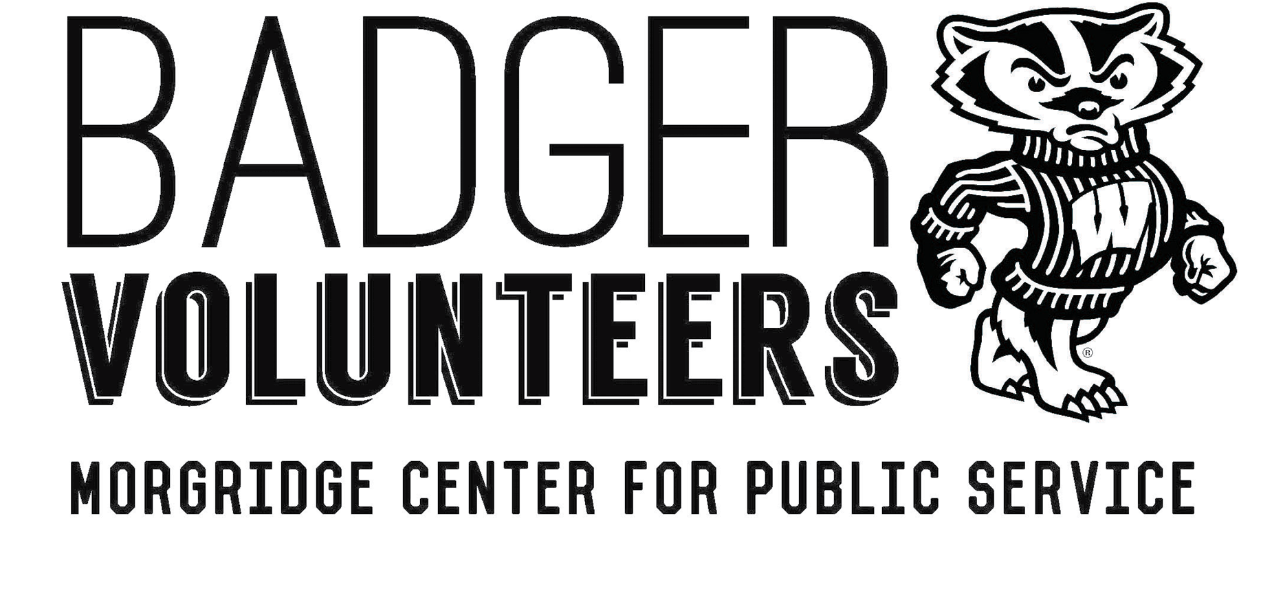 Badger Volunteers Logo